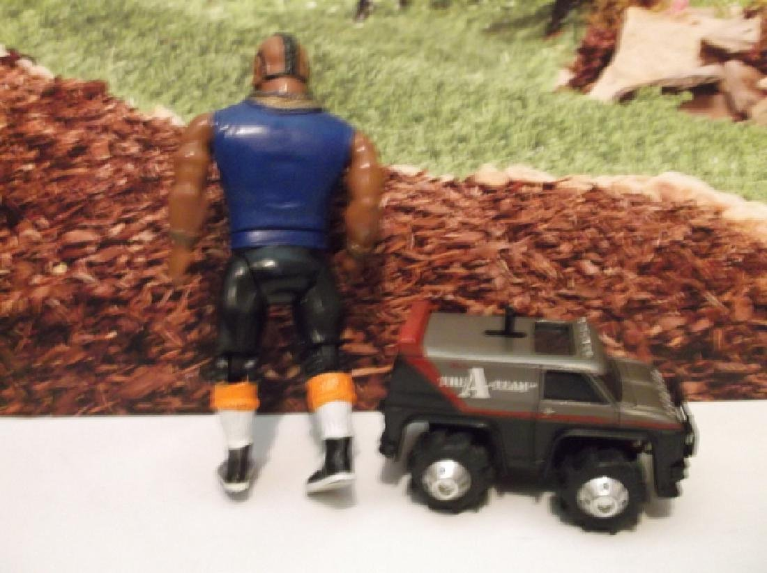 Vintage 1982 A-Team Mr. T Action Figure & Rough Riders - 4