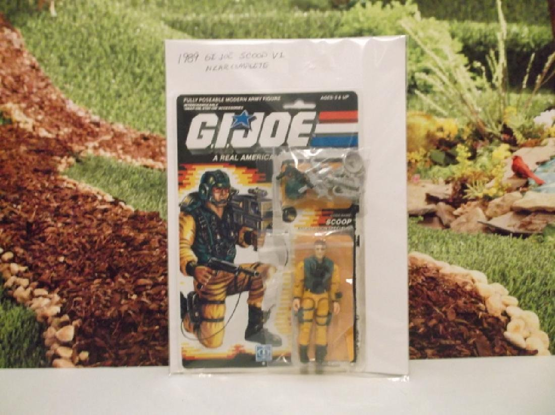 Vintage 1989 GI Joe Scoop V1 Near Complete