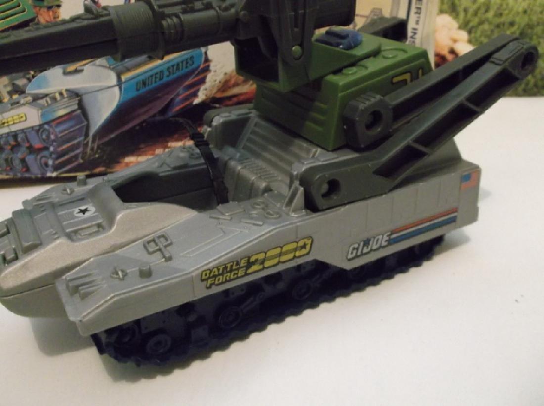 Vintage 1988 GI Joe Pulverizer Battle Tank With Box - 2