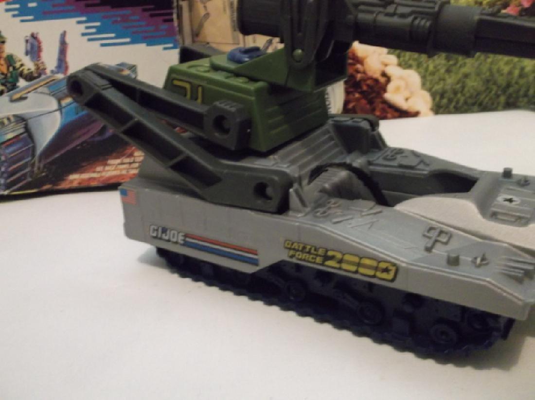 Vintage 1988 GI Joe Pulverizer Battle Tank With Box - 4