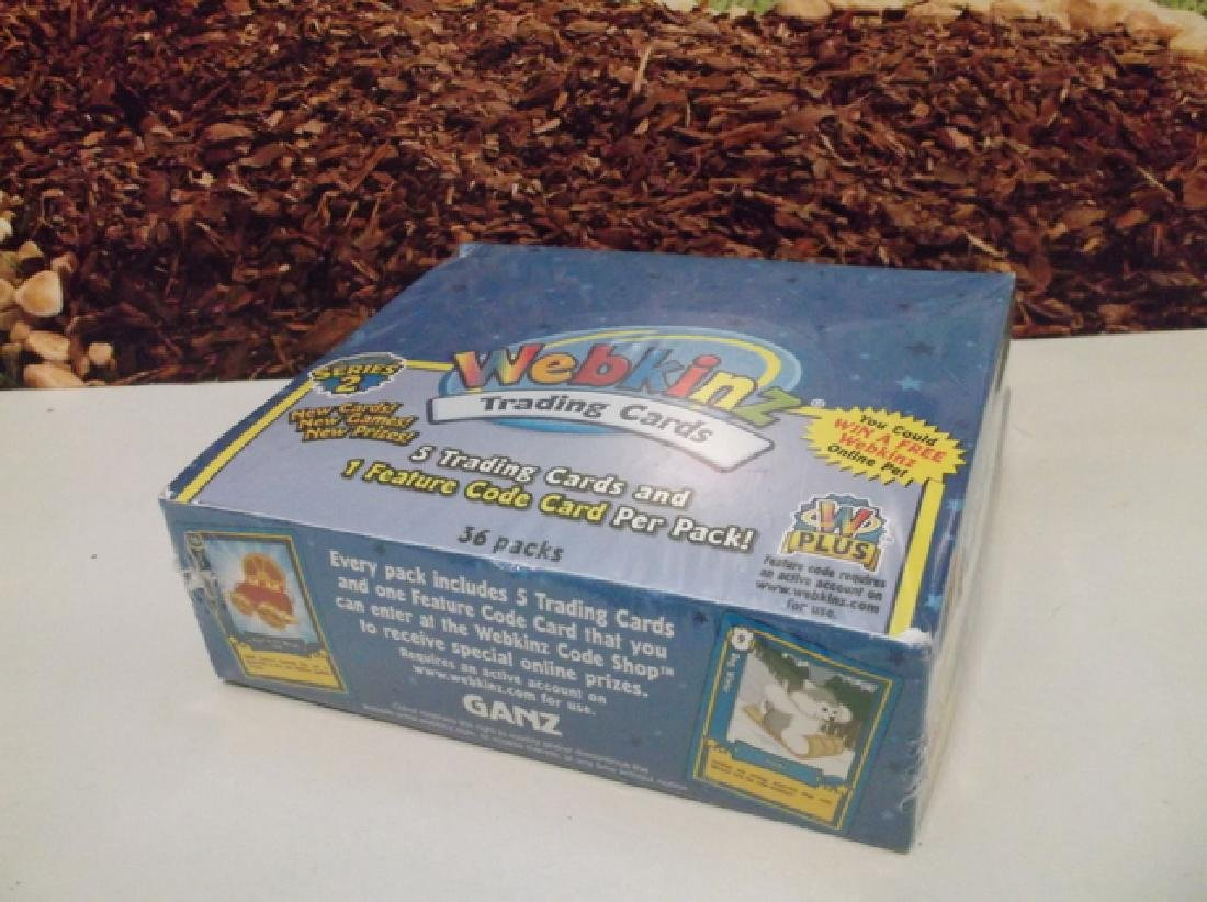 Sealed Ganz Webkinz 36 Sealed Pack Trading Card Box