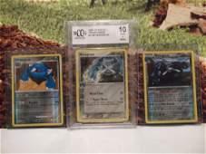 3 Pokmon Metagross Holofoil Rare Card Lot BCCG10