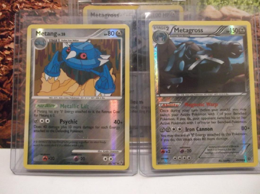 3 Pokémon Metagross Holofoil Rare Card Lot BCCG10 - 4