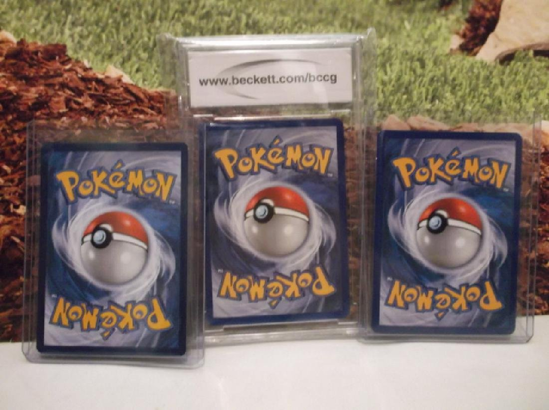 3 Pokémon Metagross Holofoil Rare Card Lot BCCG10 - 7