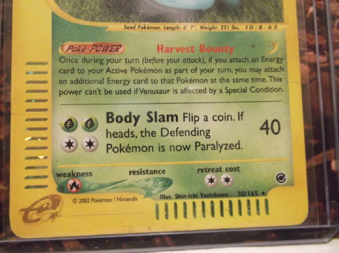 3 Vintage Pokémon Venusaur Rare Holo Cards Shadowless - 7