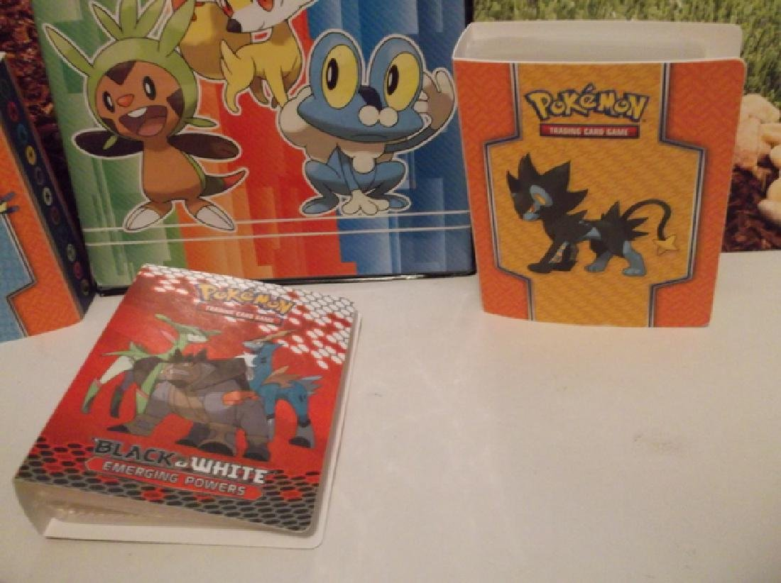 Pokémon Binders and Trading Card Lot Holofoils & More - 3