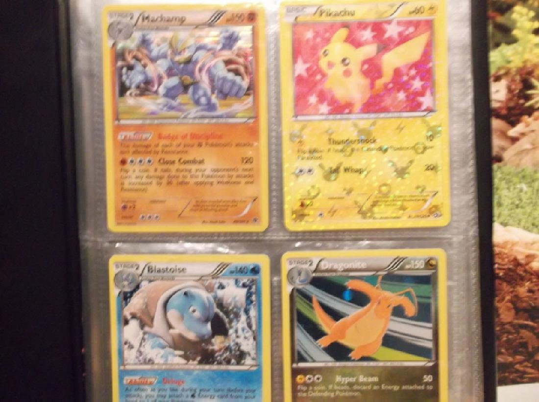 Pokémon Binders and Trading Card Lot Holofoils & More - 6