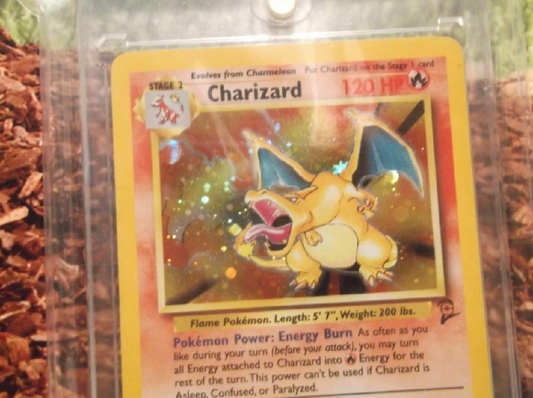 Vintage Pokémon Charizard Rare Holofoil Card 4/130 2nd - 2