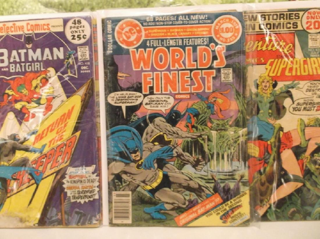 5 - 1970s DC & Marvel Batman Superman Comic Book - 10