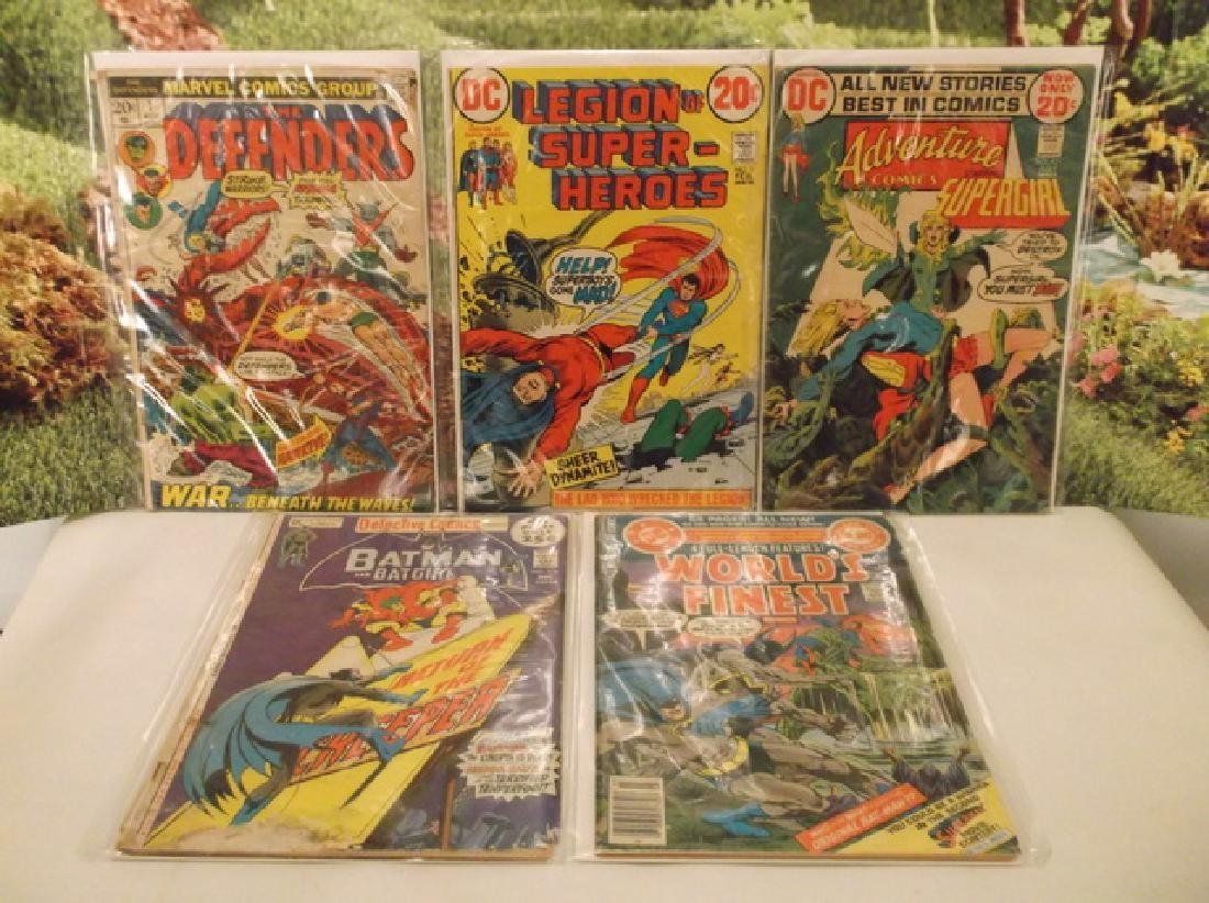 5 - 1970s DC & Marvel Batman Superman Comic Book