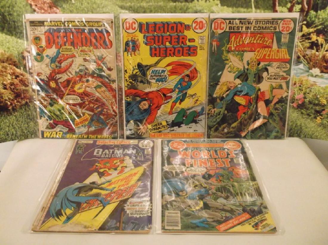 5 - 1970s DC & Marvel Batman Superman Comic Book