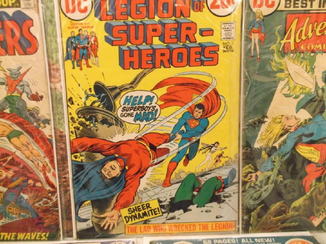 5 - 1970s DC & Marvel Batman Superman Comic Book - 3
