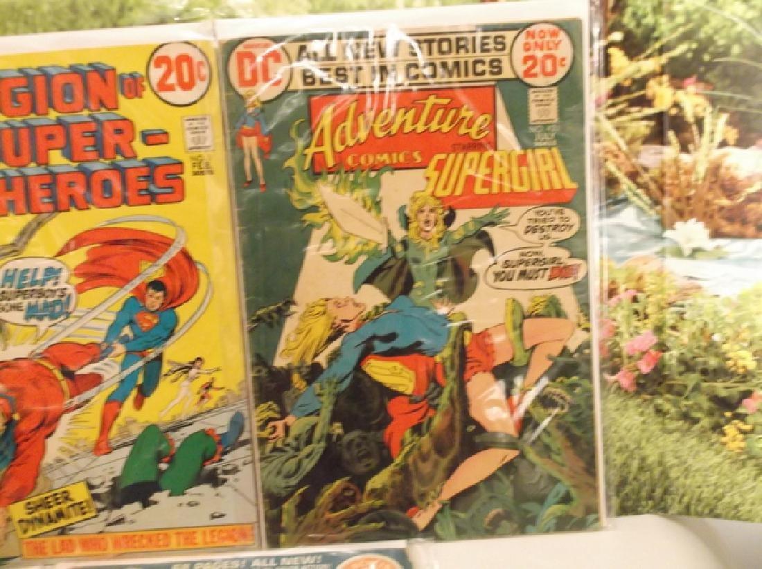 5 - 1970s DC & Marvel Batman Superman Comic Book - 5