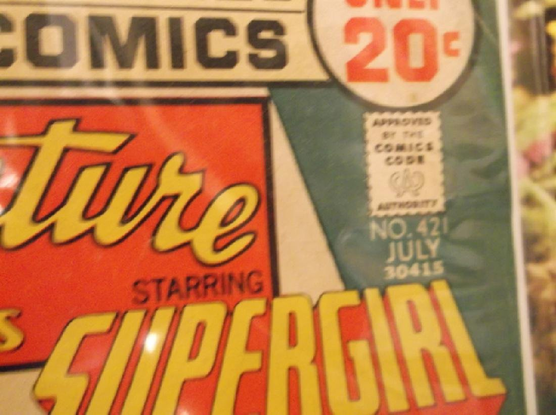 5 - 1970s DC & Marvel Batman Superman Comic Book - 6