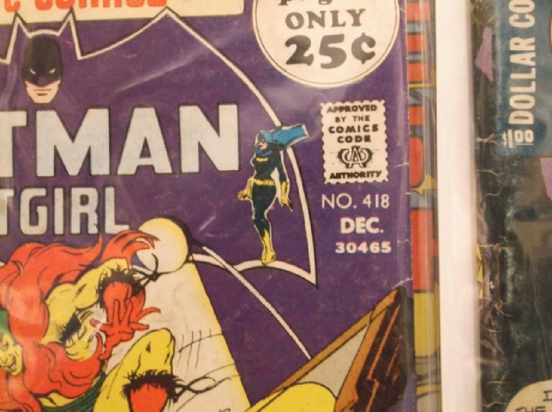5 - 1970s DC & Marvel Batman Superman Comic Book - 9