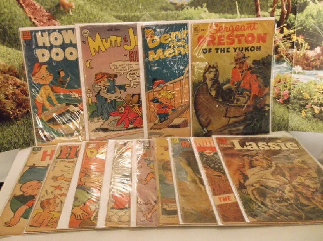 13 - ALL 1950s Golden Age DC & More Comic Book