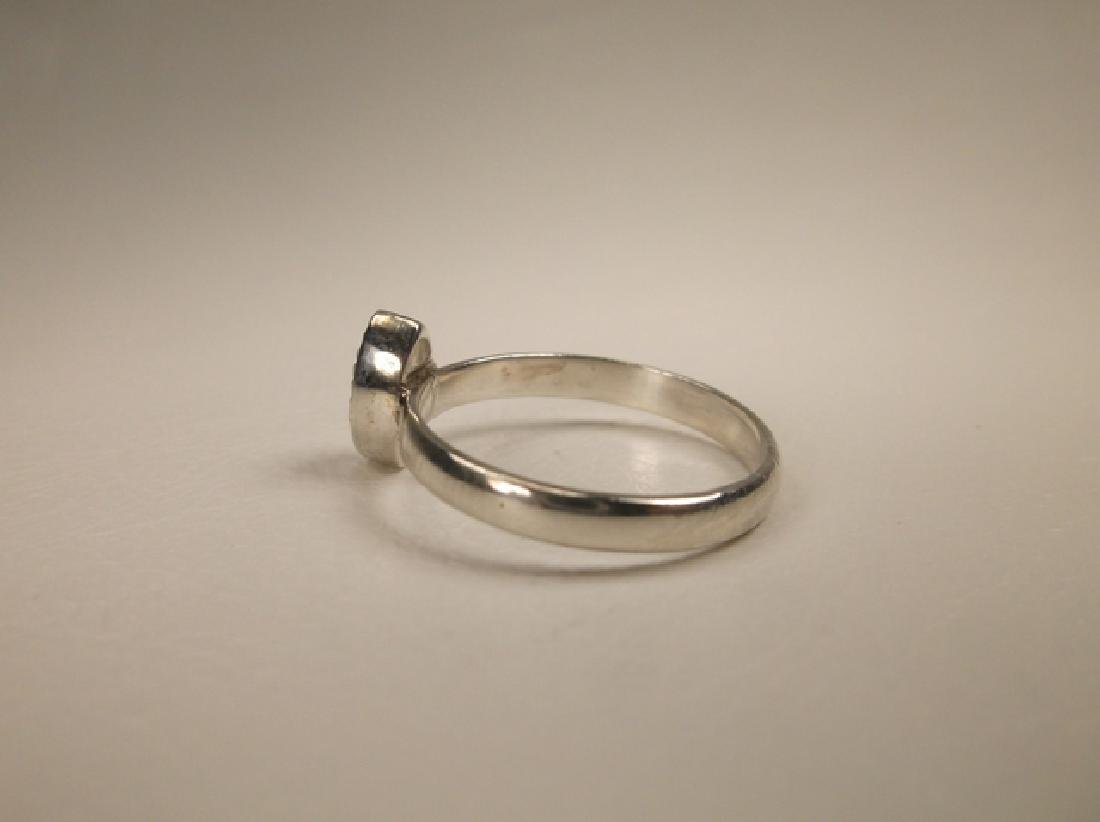 Gorgeous Sterling Silver Dot Ring in Size 7 - 3