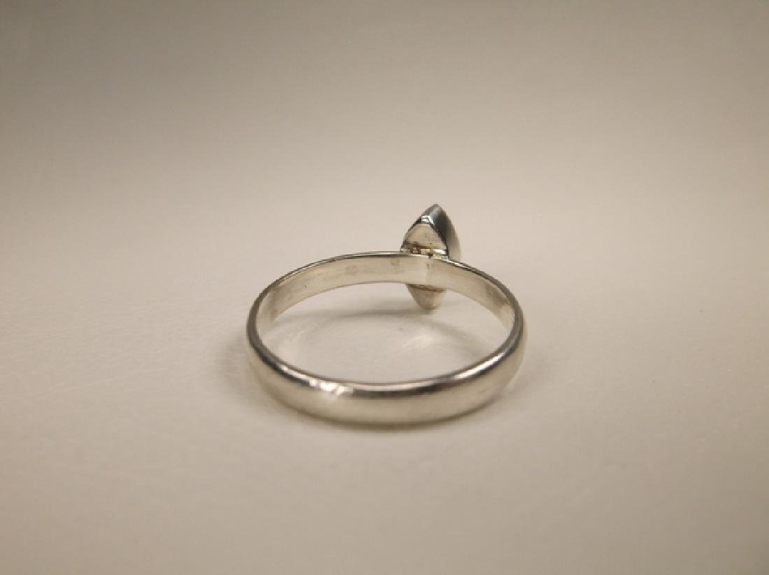 Gorgeous Sterling Silver Dot Ring in Size 7 - 4