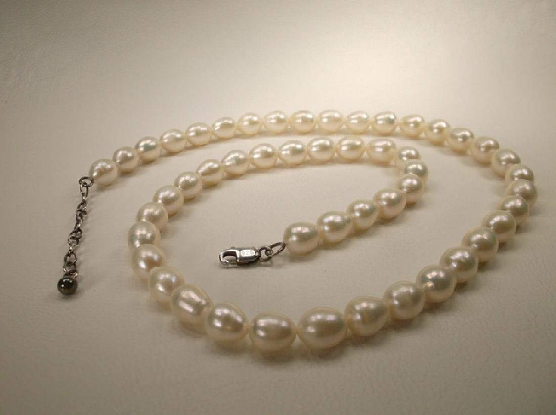 Gorgeous Sterling Silver Large Freshwater Pearl