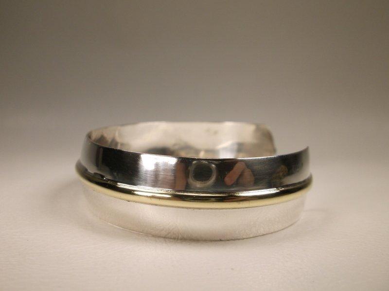 Gorgeous Vintage Sterling Silver Cuff Bracelet 925 - 3