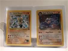 2 Nice Vintage Pokmon Machamp Rare Holofoil Cards