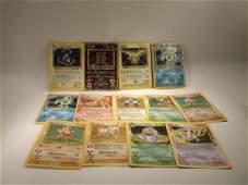 13 Vintage Played Pokmon Rare Holofoil Collection