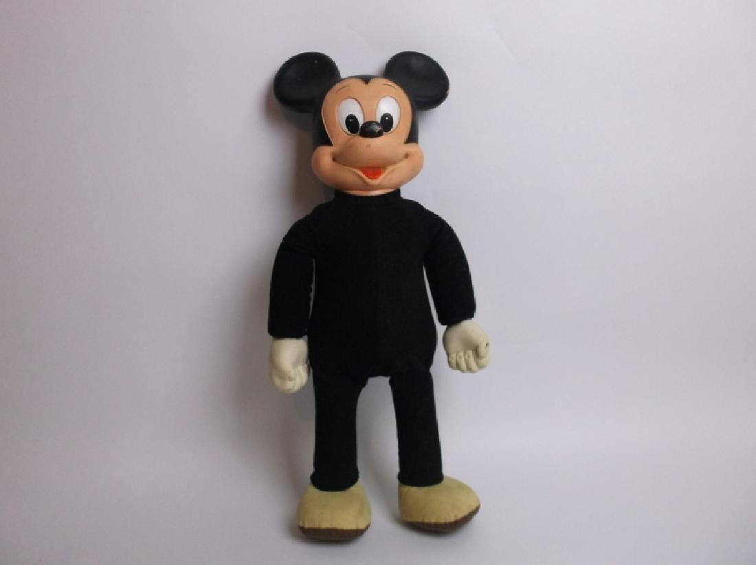 1970s Hasbro Mickey Mouse Toy 20 Inch Walking Disney
