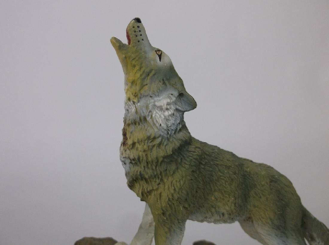 Gorgeous Wolf Statue - 2