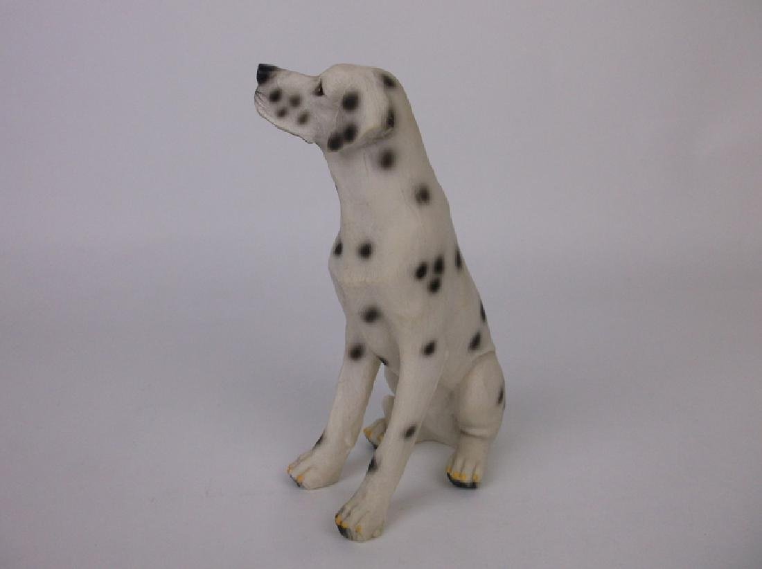 Gorgeous Dalmatian Dog Statue - 2