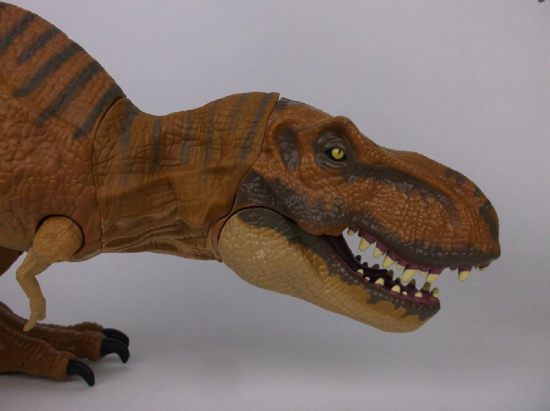 2 Large Animated Jurassic World T Rex + - 2