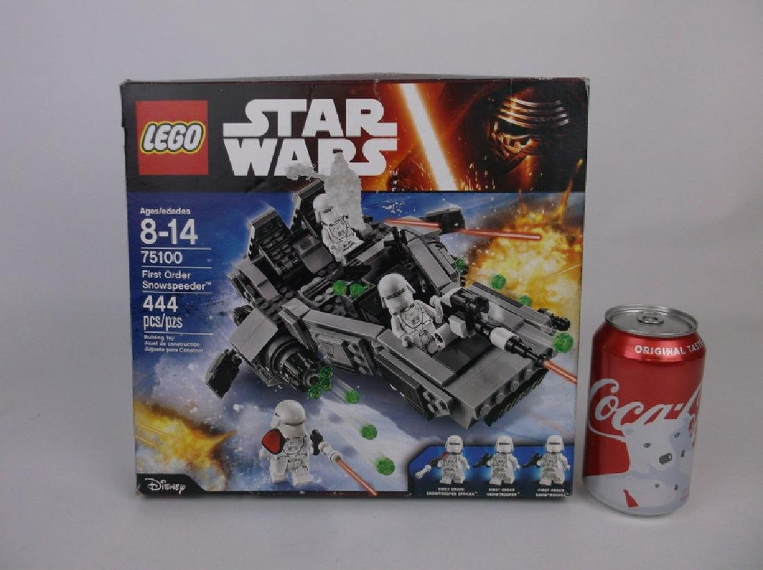 New Lego Star Wars First Order Set 75100