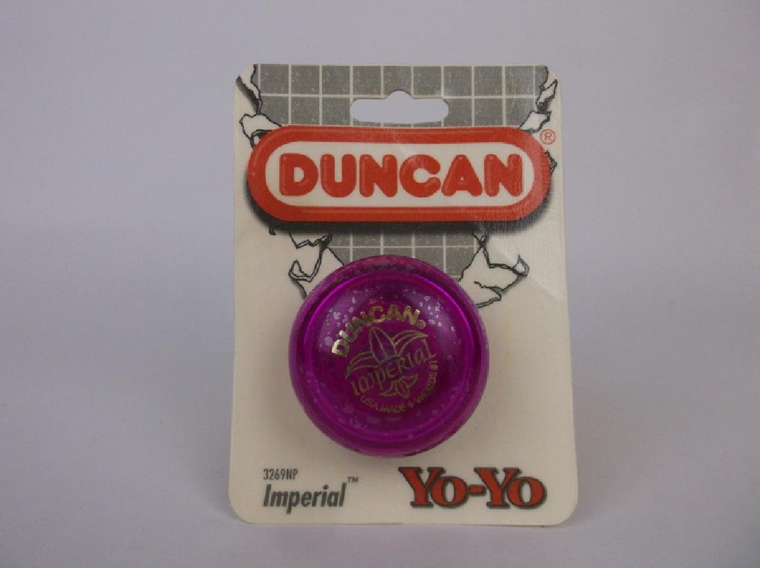 1997 Duncan Imperial Yoyo Purple Sealed 3269np