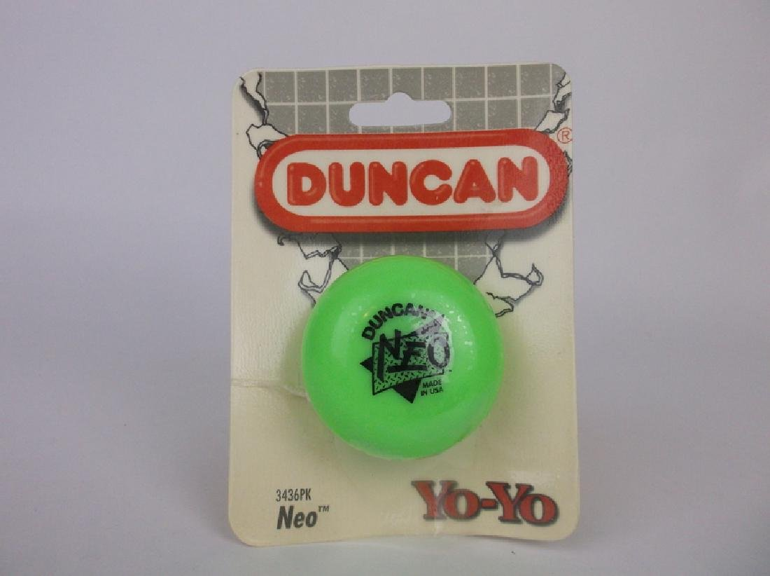 1994 Duncan Neo Yoyo Green Sealed 3436pk