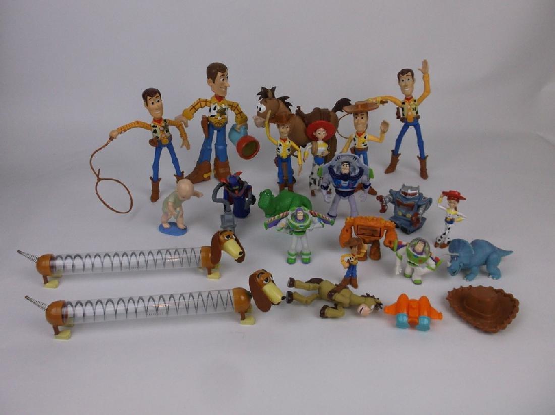 Huge Disney Toy Story Toy Figures Lot Nice