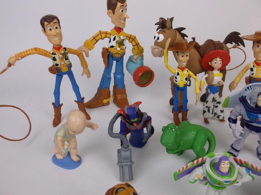 Huge Disney Toy Story Toy Figures Lot Nice - 4
