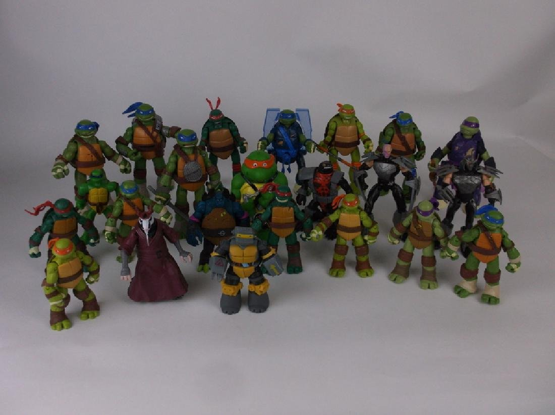 HUGE TMNT Teenage Mutant Ninja Turtles Lot