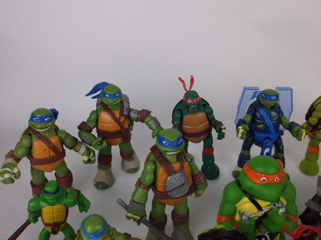 HUGE TMNT Teenage Mutant Ninja Turtles Lot - 6