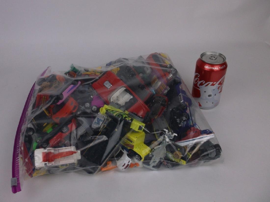 Huge Bag of Hotwheels Matchbox & More Car Lot