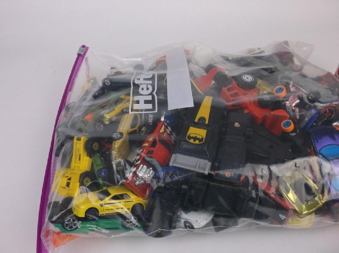 Huge Bag of Hotwheels Matchbox & More Car Lot - 2