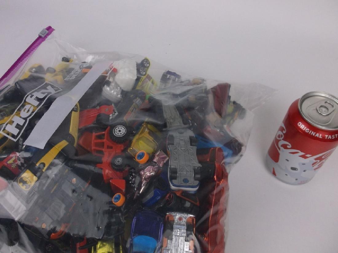 Huge Bag of Hotwheels Matchbox & More Car Lot - 3