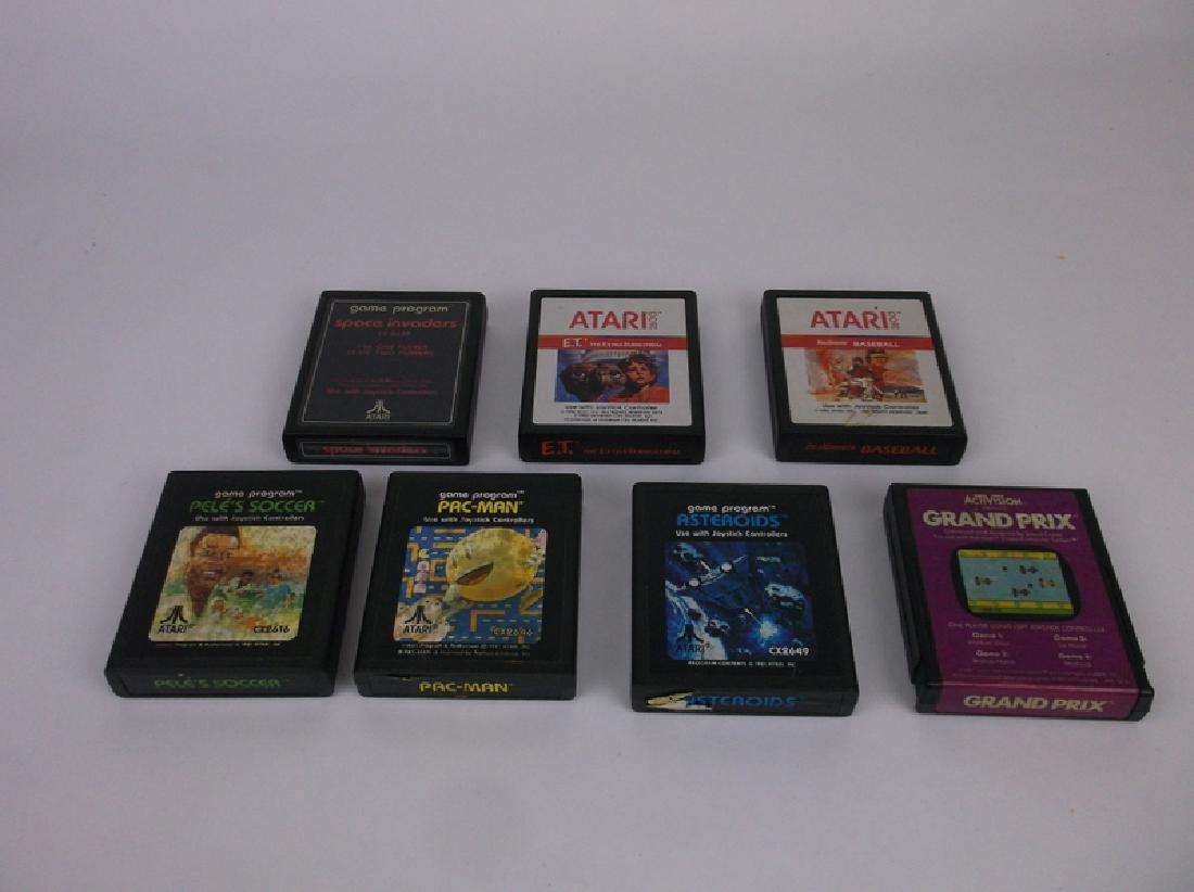 7 Vintage Atari Video Games