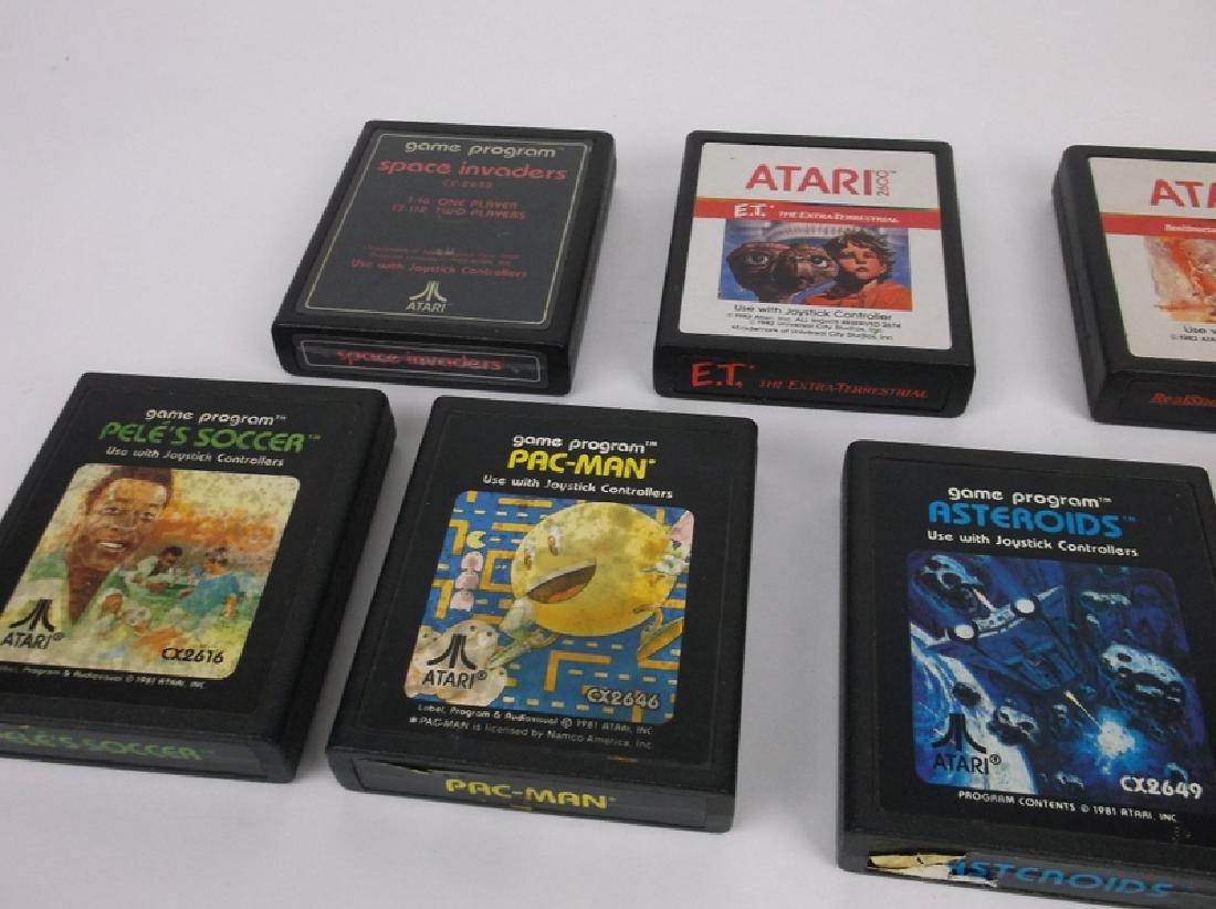7 Vintage Atari Video Games - 2