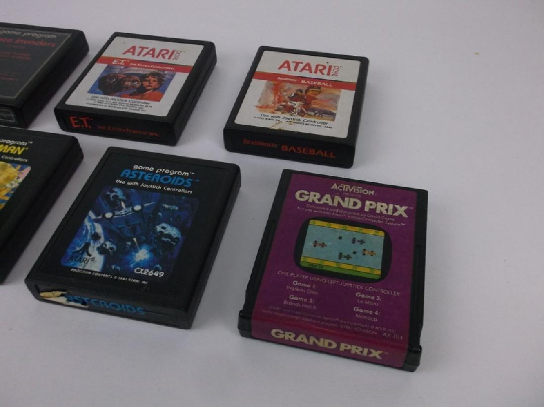 7 Vintage Atari Video Games - 3