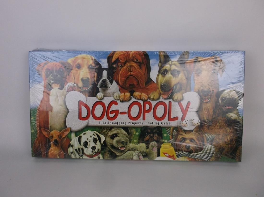 Sealed New Dog-Opoly Board Game Dogs Cats