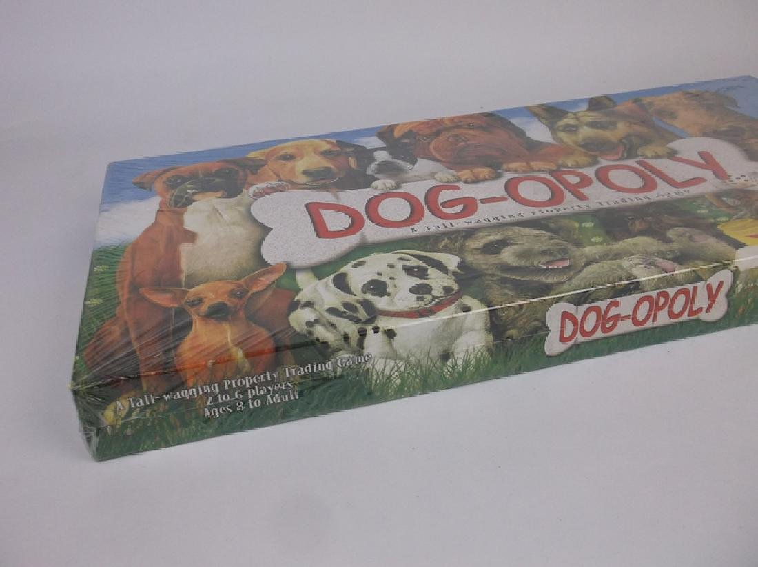 Sealed New Dog-Opoly Board Game Dogs Cats - 2