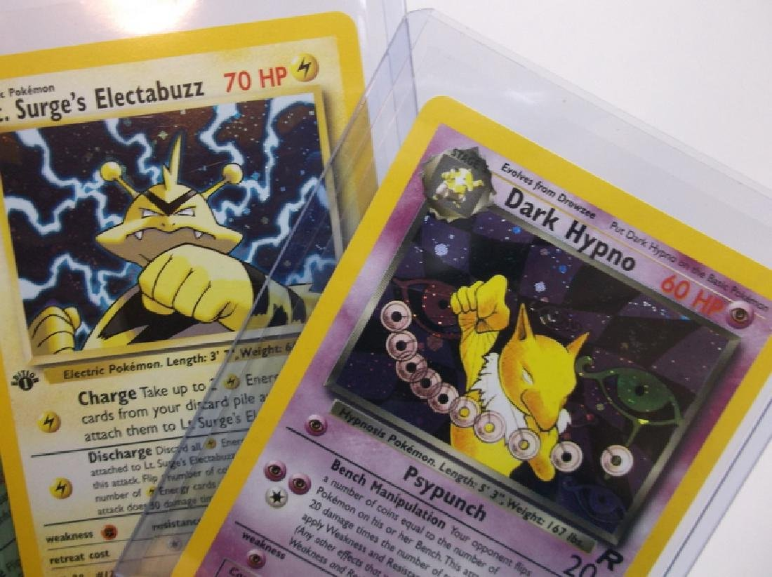 Great Vintage Pokemon Card Lot Rare Holos - 2