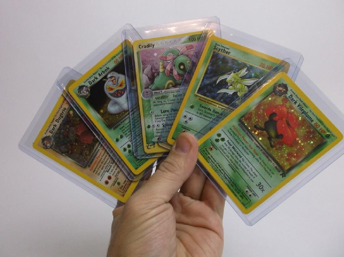 Great Vintage Pokemon Card Lot Rare Holos