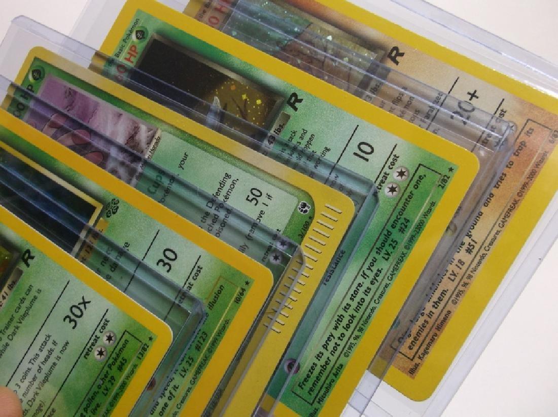 Great Vintage Pokemon Card Lot Rare Holos - 3