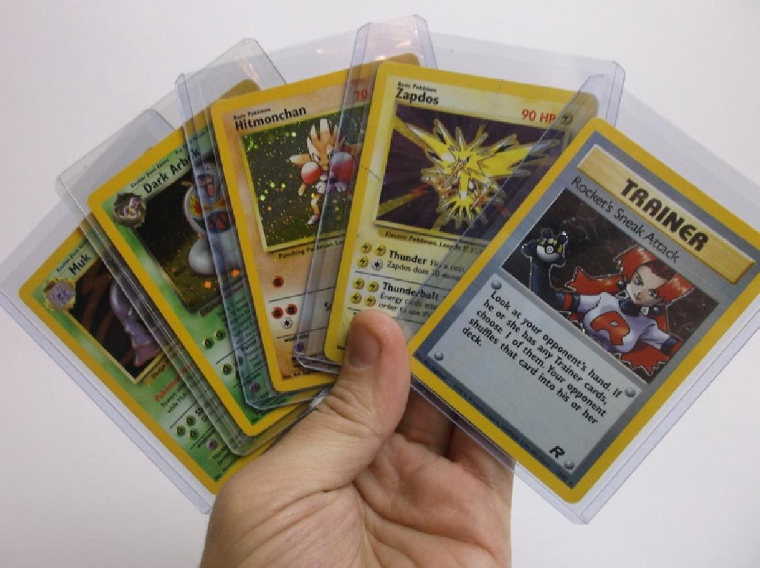 Great Vintage Pokemon Card Lot Rare Holos