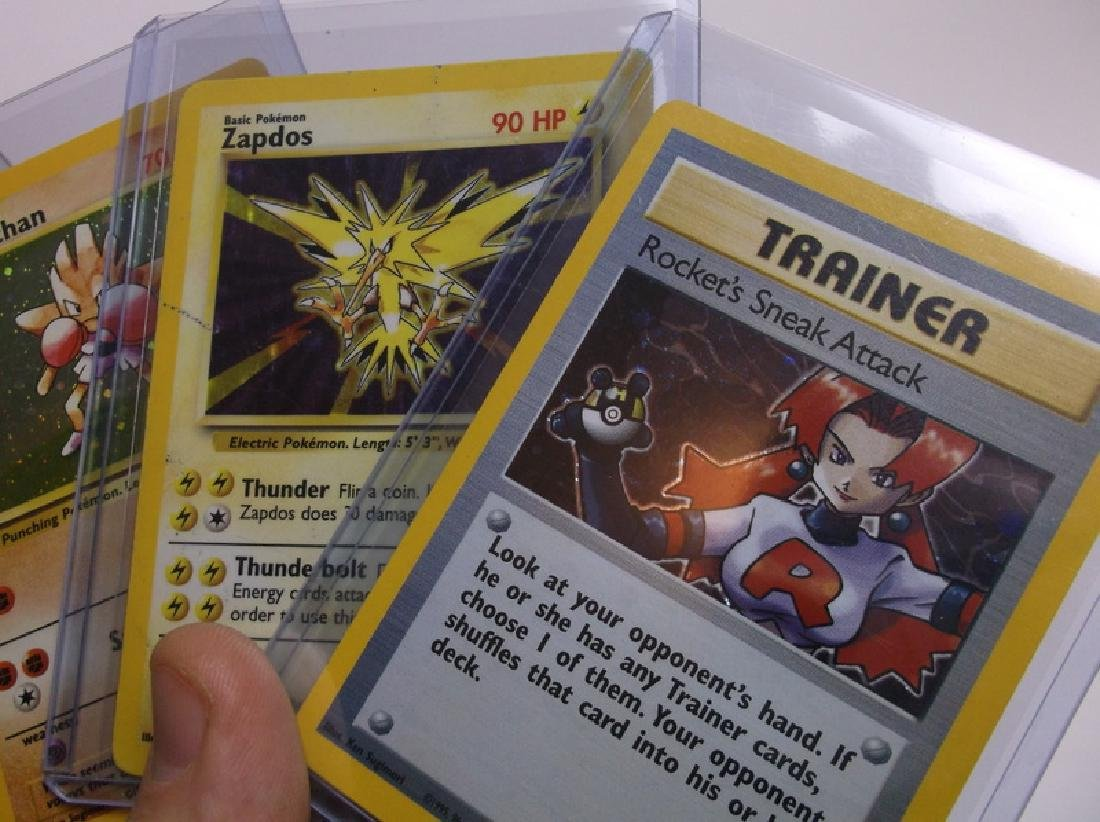 Great Vintage Pokemon Card Lot Rare Holos - 2